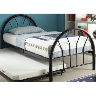 Branch Twin Panel Bed with Trundle by Zoomie Kids