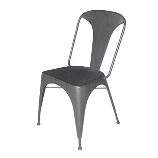 Burgess Solid Metal Dining Chair (Set of ..