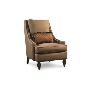 Crendon Wing back Chair by Astoria Grand