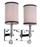 Rosdorf Park Mcdowell Glam 2-Light LED Armed Sconce