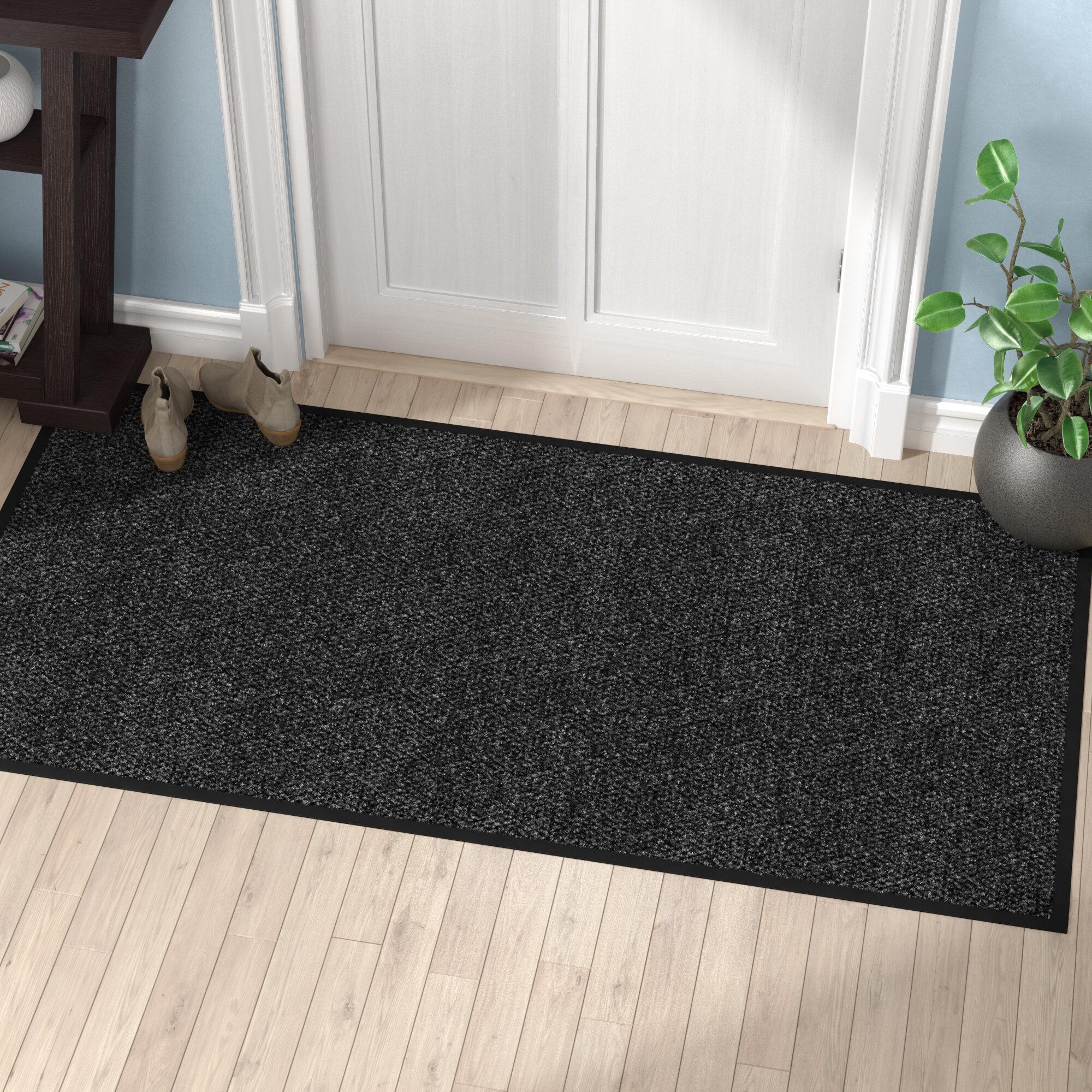 Symple Stuff Polynib Solid Indoor Only Door Mat Reviews Wayfair
