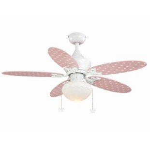 Harriet Bee Dupont 5-Blade Ceiling Fan