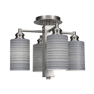 Keon 4-Light Semi Flush Mount ..