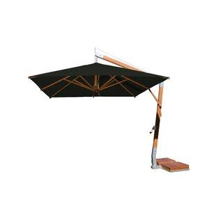 Sidewind 10' Square Cantilever Umbrella by Bambrella