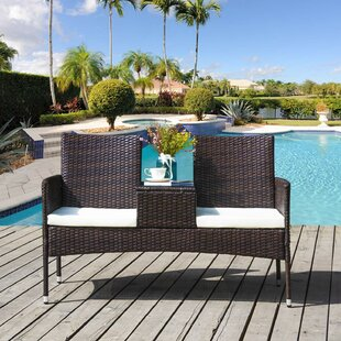 Kirandeep 2 Seater Bistro Set With Cushions By Sol 72 Outdoor
