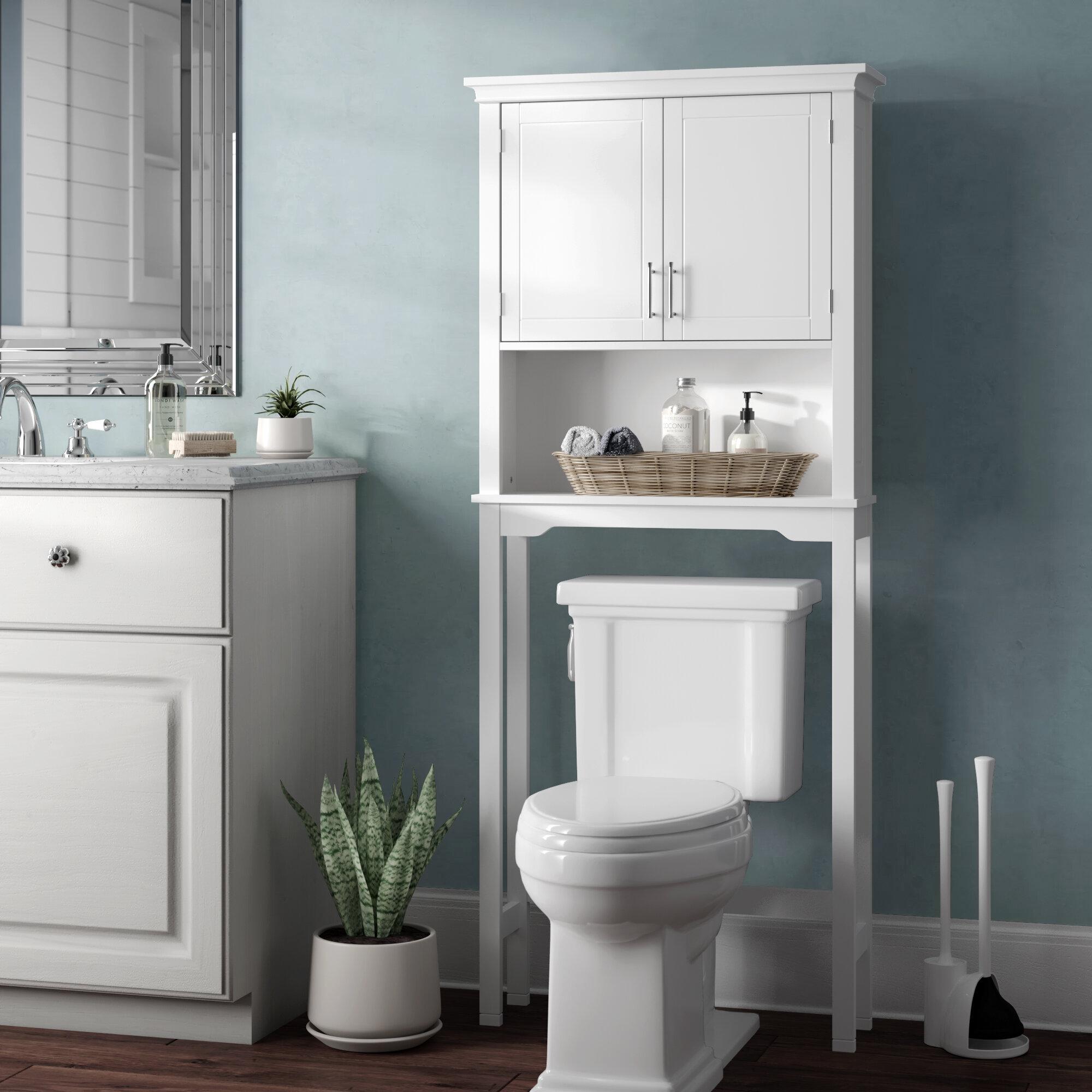 Merveilleux Over The Toilet Storage Cabinets | Wayfair
