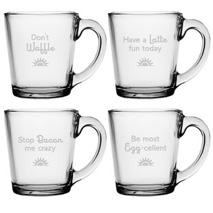 Breakfast Club Coffee Mug (Set of 4)