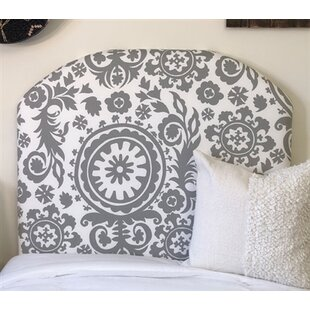 Hovey Arched Twin/Twin XL Upholstered Panel Headboard