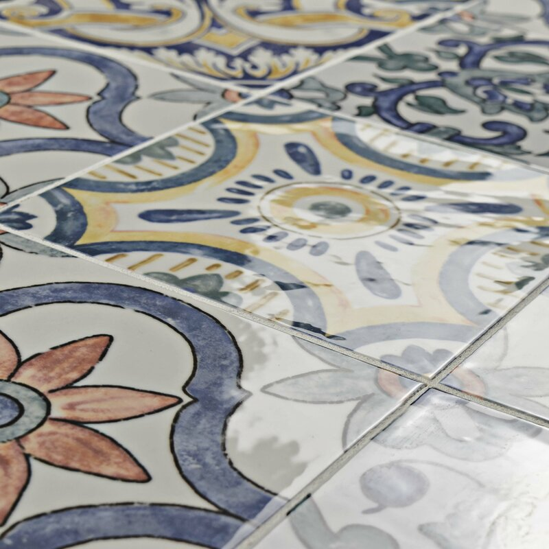 What Are Ceramic Tiles Made From?