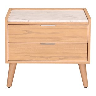 Schulenburg 2 Drawer Nightstand by Brayden Studio