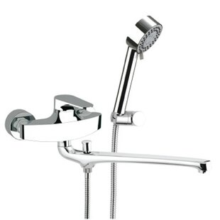 Single Handle Wall Mounted Tub Only Faucet with Hand Shower ByRemer by Nameek's