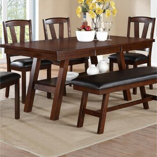 Inexpensive Rucker Solid Wood Dining Table By Charlton Home