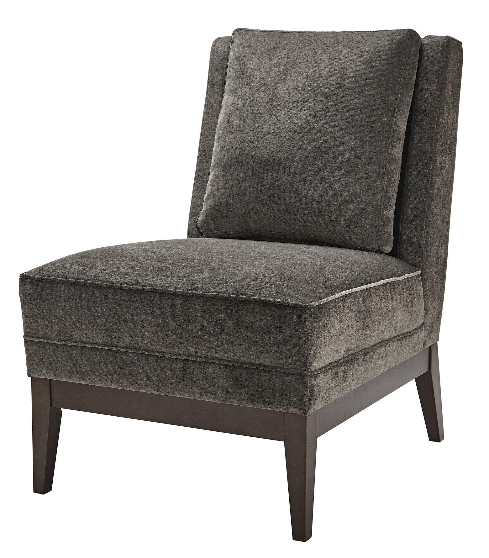 Brilliant Martha Stewart Elise Slipper Chair Bralicious Painted Fabric Chair Ideas Braliciousco