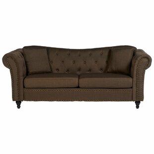 Cornelie 3 Seater Chesterfield Sofa By Rosalind Wheeler