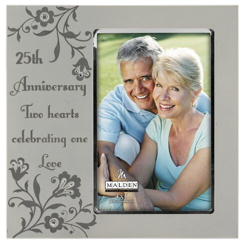 Malden 25th Anniversary Picture Frame Wayfair