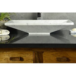Y Decor Bliss Stone Rectangular Vessel Bathroom Sink
