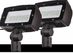 Lumight Asimo 2 Light LED Flood/Spot Light (Set of 2) (Set of 2)