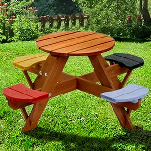 Kids Picnic Table Wayfair - One sided picnic table