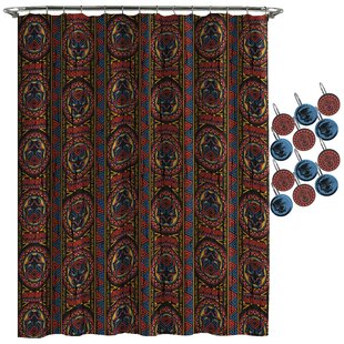 Panther Tribal Shower Curtain