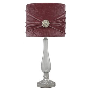 Glass 55cm Table Lamp