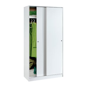 Vikenti 2 Door Sliding Wardrobe By Ebern Designs