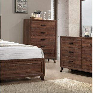 Great Price Lusk 5 Drawer Chest by Union Rustic