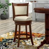 BellefontaineSwivel Bar & Counter Stool by Red Barrel Studio®