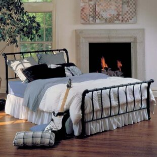 Janis Sleigh Bed by Hillsdale Furniture