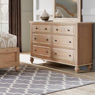 Jerkins 6 Drawer Double Dresser By Alcott Hill