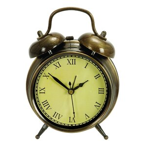 Old Time Table Clock