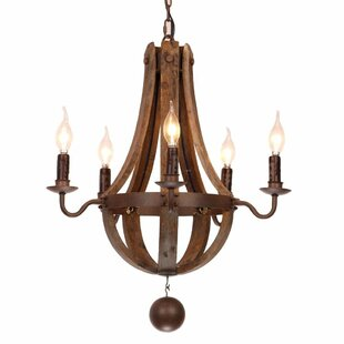 Affordable Price Plante 5-Light Empire Chandelier By Loon Peak