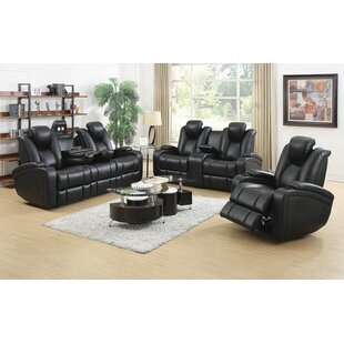 Budget Navua 3 Piece Reclining Living Room Set by Red Barrel Studio Reviews (2019) & Buyer's Guide