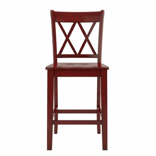 Bromborough Double X-Back 24 Bar Stool (Set of 2) Three Posts