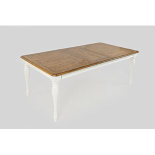 Bluebonnet Traditional Extendable Dining Table August Grove