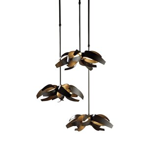 Corona 12-Light Cluster Pendant by Hubbardton Forge