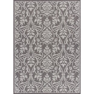 Ricky Weather-Proof Gray Indoor/Outdoor Area Rug