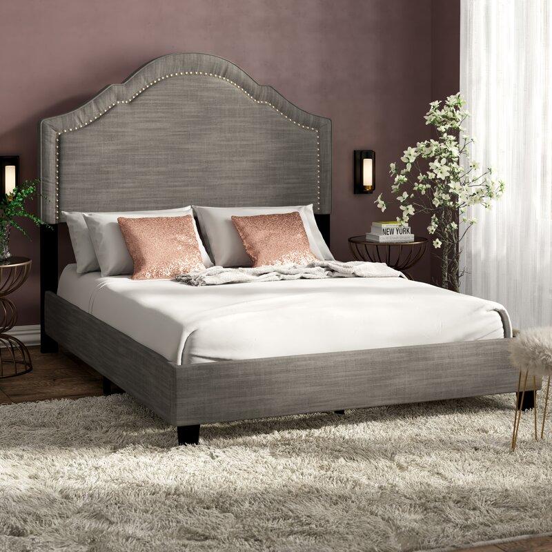 Willa Arlo Interiors Gwyneth Upholstered Standard Bed Reviews Wayfair