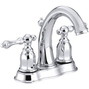 Kohler Kelston Centerset Bathroom Sink Faucet
