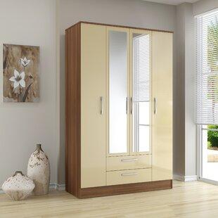 Linch 4 Door Wardrobe By Wrought Studio