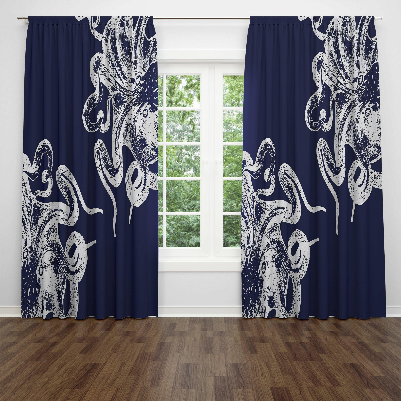 Semi Sheer Curtain Panels