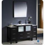 Torino 60 Single Bathroom Vanity Set with Mirror by Fresca