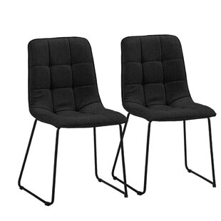 Gibb Tufted Upholstered Dining Chair (Set..