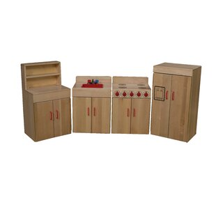 Heritage 4 Piece Maple Kitchen Appliance Set by Wood Designs
