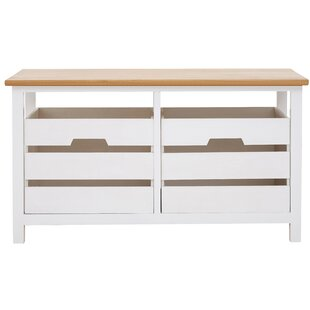 Cedar Grove 2 Drawer Wood Storage Bench By Beachcrest Home