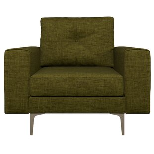 Binns Oxford Weave Armchair by Corrigan Studio