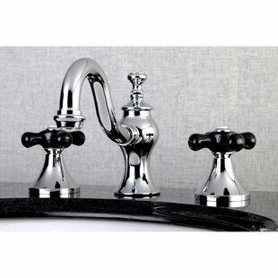 Kingston Brass Duchess Widespread Lavatory Bathroom Faucet with Brass Pop-Up