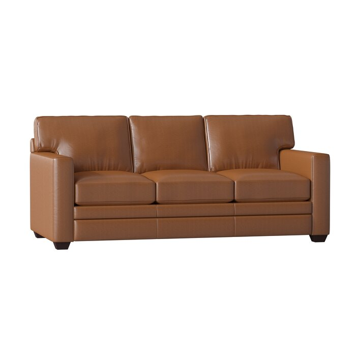 Fine Carleton Leather Sofa Bed Pabps2019 Chair Design Images Pabps2019Com
