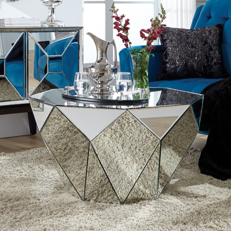 Holborn Faceted End Table