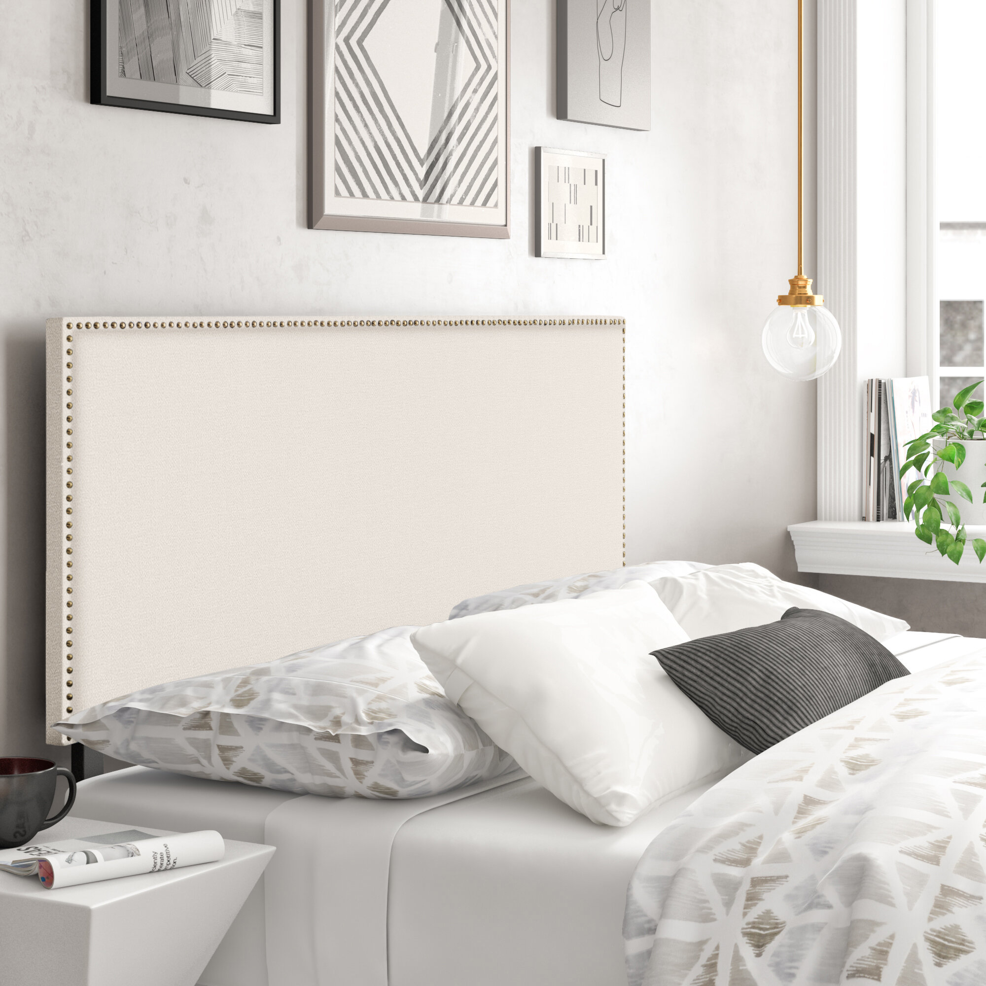 Brown Upholstered Headboards You Ll Love In 2021 Wayfair