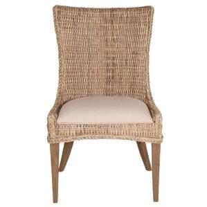 Topher Wicker Side Chair (Set of 2) by Bi..